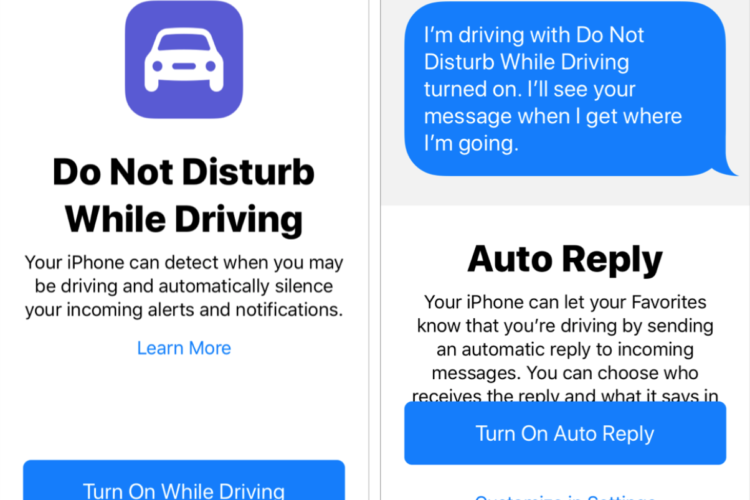 How to Use Do Not Disturb While Driving